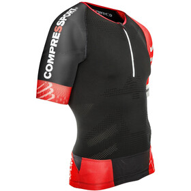 Compressport TR3 Aero T-shirt de triathlon, black